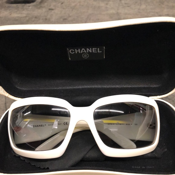29ae4200360 CHANEL Accessories - Chanel mother of pearl sunglasses